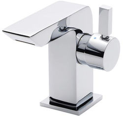 Ultra Mini Waterfall Cloakroom Basin Tap (Chrome).
