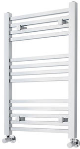 Crown Radiators Square Ladder Towel Radiator (Chrome). 800x500mm.