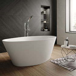 Hudson Reed Baths Rose Freestanding Bath 1510x760mm.