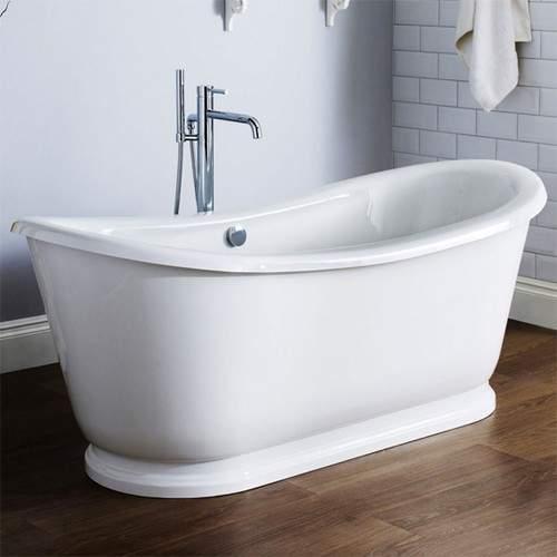 Premier Baths Alice Double Ended Freestanding Slipper Bath 1740x800mm.