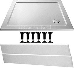 Crown Trays Easy Plumb Rectangular Shower Tray. 900x800x40mm.