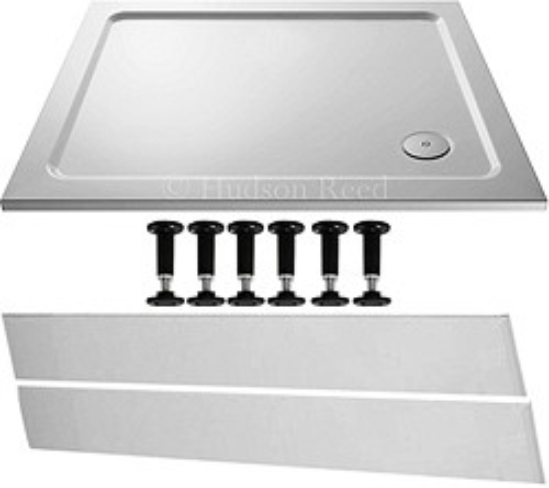 Crown Trays Easy Plumb Rectangular Shower Tray. 1000x800x40mm.