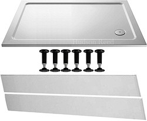 Crown Trays Easy Plumb Rectangular Shower Tray. 1200x760x45mm.