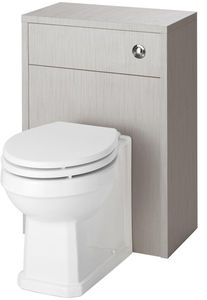 Old London York Back To Wall WC Unit 500mm (Grey).