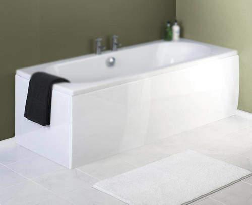Crown Bath Panels Side & End Bath Panel Pack (White, 1700x700mm).