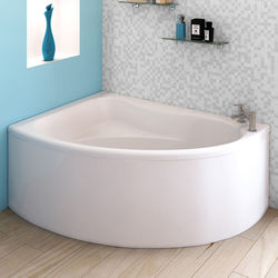 Crown Baths Pilot Single Ended Corner Bath & Panel (Left Handed).