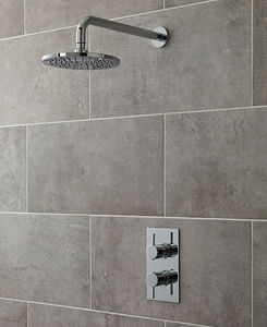 Ultra Quest Quest Thermostatic Shower Valve With Ecco Shower Head.