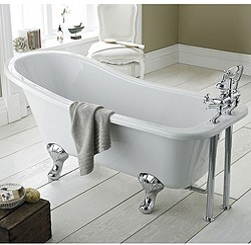Hudson Reed Baths Brockley Slipper Bath 1500x730mm.