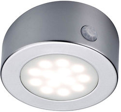 Hudson Reed Lighting Rechargeable Round LED Light With USB Charger.