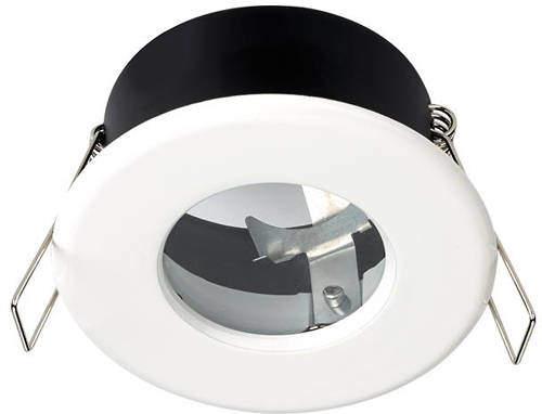 Hudson Reed Lighting 1 x Shower Spot Light & Cool White LED Lamp (White).