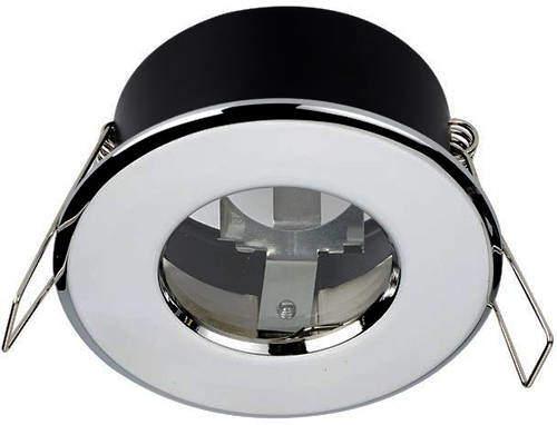 Hudson Reed Lighting 1 x Shower Spot Light & Warm White LED Lamp (Chrome).
