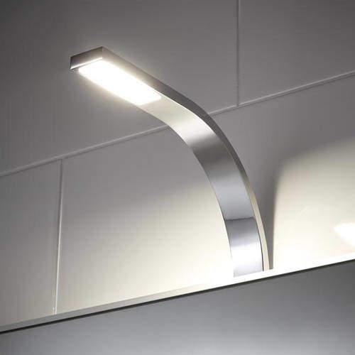 Hudson Reed Lighting COB LED Over Mirror Light Only (Warm White).