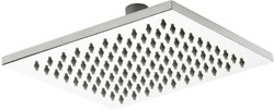 Premier Showers Square Shower Head (200x200mm, Stainless Steel).