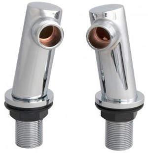 Ultra Parts Round Minimalist Inlet Legs (Chrome).