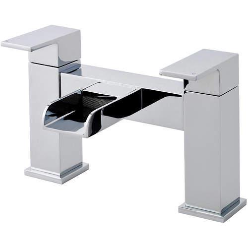 Nuie Strike Waterfall Bath Filler Tap (Chrome).