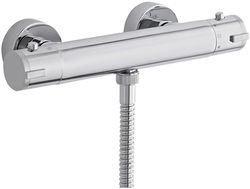Ultra Showers TMV2 Thermostatic Bar Shower Valve (Bottom Outlet).