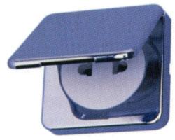 Shaver Decorshave 240V chrome plated shaver socket with transformer.
