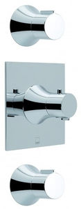 Vado Altitude 2 Outlet Thermostatic Shower Valve Kit With Stop Valves.