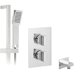 Vado Shower Packs Thermostatic Shower Set With 1 Outlet (Chrome).