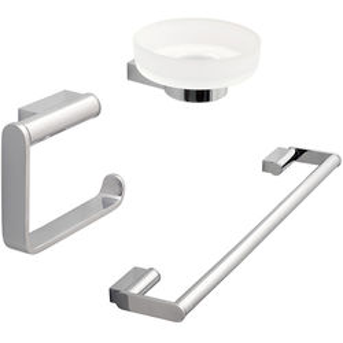 Vado Infinity Bathroom Accessories Pack A13 (Chrome).