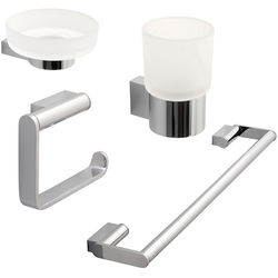 Vado Infinity Bathroom Accessories Pack A15 (Chrome).