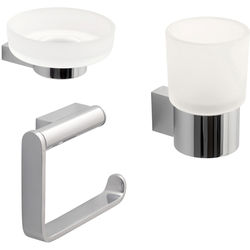 Vado Infinity Bathroom Accessories Pack A5 (Chrome).
