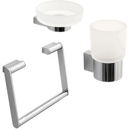 Vado Infinity Bathroom Accessories Pack A7 (Chrome).
