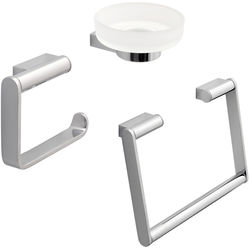 Vado Infinity Bathroom Accessories Pack A8 (Chrome).
