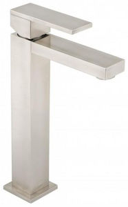 Vado Notion Extended Basin Mixer Tap (Brushed Nickel).