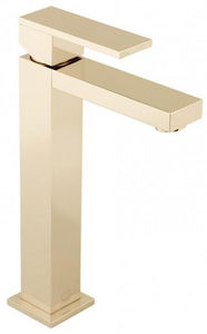 Vado Notion Extended Basin Mixer Tap (Polished Gold).