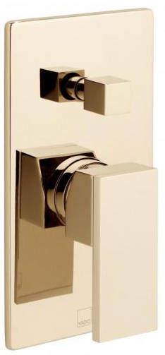 Vado Notion Manual Shower Valve With Diverter (Polished Gold).