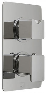 Vado Phase Thermostatic Shower Valve With Diverter (3 Outlets, TMV2).