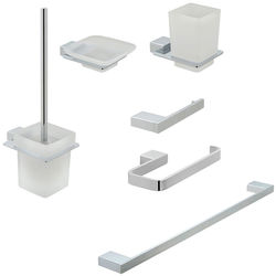Vado Phase Bathroom Accessories Pack A08 (Chrome).
