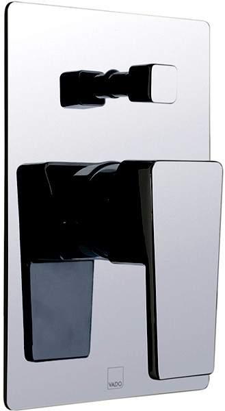 Vado Synergie Concealed Shower Valve With Diverter (Chrome, Manual).
