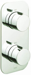 Vado Altitude 2 Outlet Thermostatic Shower Valve (Bright Nickel).