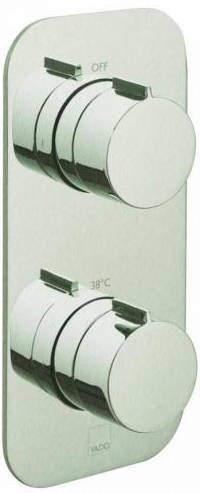 Vado Altitude 2 Outlet Thermostatic Shower Valve (Brushed Nickel).