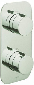 Vado Altitude 1 Outlet Thermostatic Shower Valve (Brushed Nickel).