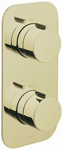 Vado Altitude 1 Outlet Thermostatic Shower Valve (Polished Gold).