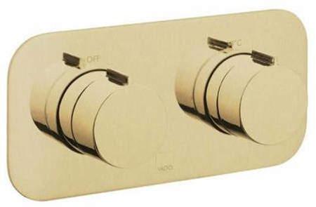 Vado Altitude 1 Outlet Thermostatic Shower Valve (Brushed Gold).