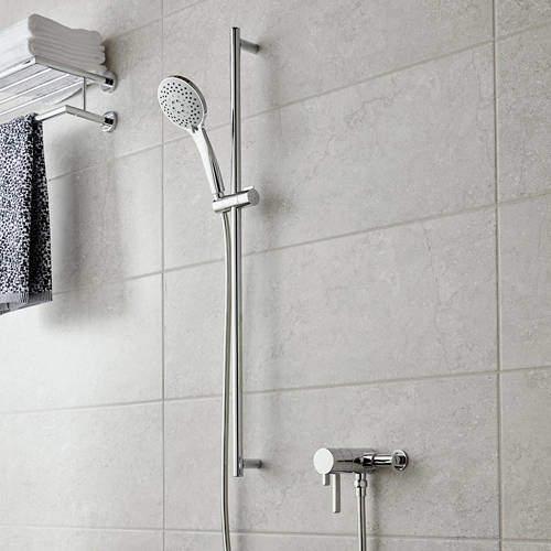 Vado Shower Packs Exposed Thermostatic Shower Valve & Rail Kit.