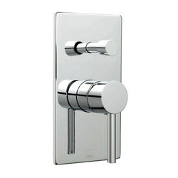 Vado Zoo Manual Shower Valve With Diverter & 2 Outlets (Chrome).