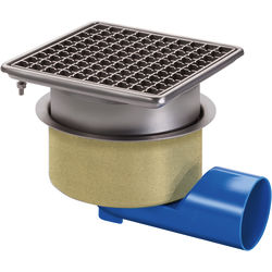 VDB Unlimited Drains Commercial Drain 200x200mm (Mesh Grating).
