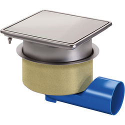 VDB Unlimited Drains Commercial Drain 200x200mm (Airtight Cover)