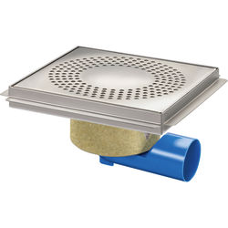 VDB Unlimited Drains Commercial Drain 300x300mm (S Steel).