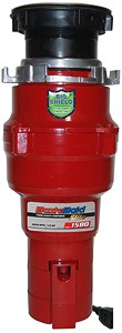 WasteMaid Elite 1580 Waste Disposal Unit With Continuous Feed (Economy).