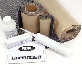 RIW Tilesafe, Wetroom Tanking Kit (10 Square Meters).