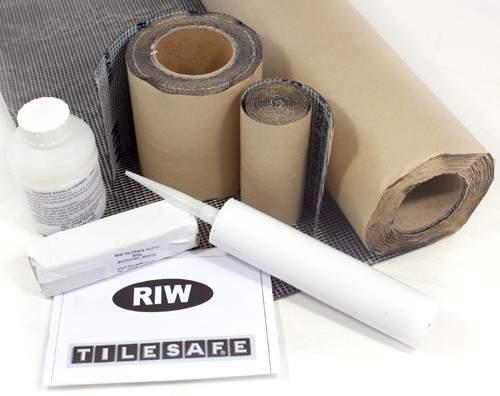 RIW Tilesafe, Wetroom Tanking Kit (5 Square Meters).