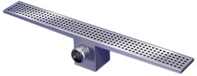 Waterworld Rectangular Wetroom Shower Drain With Side Outlet. 1400mm.