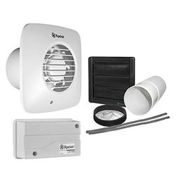 Xpelair Simply Silent 12v Extractor Fan With PIR & Kit (100mm).