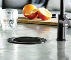 Zip Fonts Stand Alone Tap Font & Drip Tray Kit (Gloss Black).